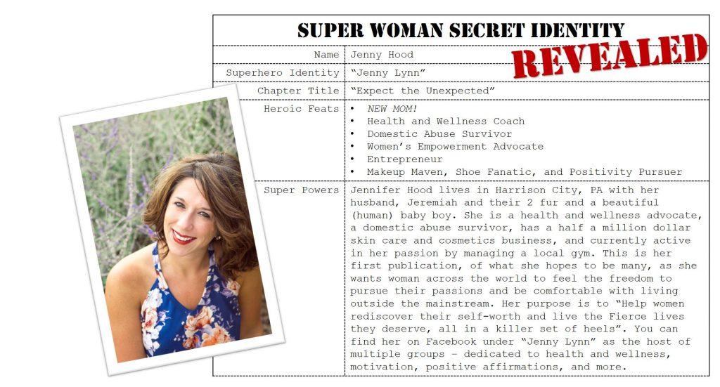 Jenny Hood, Super Woman