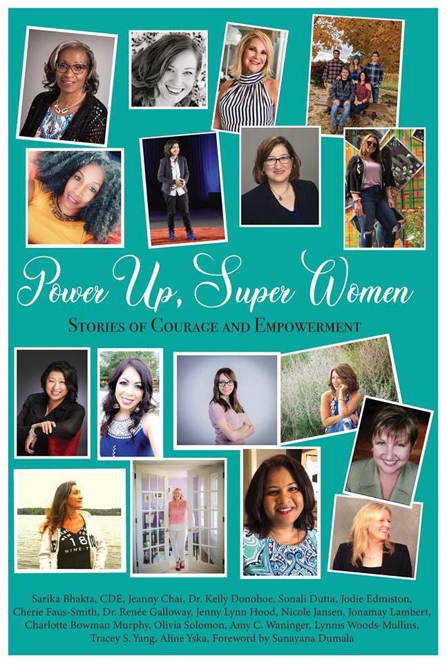 Power Up Super Women Cover